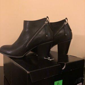 torrid Shoes - Black leather booties